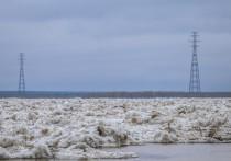 Толщина льда на реках Якутии преимущественно ниже нормы