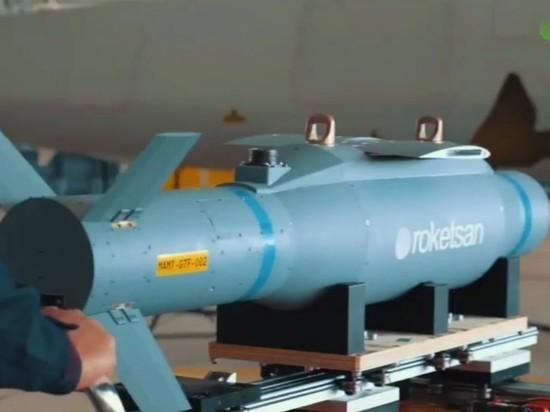 Новый турецкий БПЛА применил 3 типа управляемых боеприпасов за полёт
