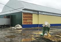 В Ивановской области неисправность печного оборудования привела к пожару в магазине