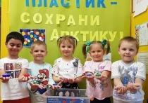 Дошкольники Ямала за неделю собрали 90 кг пластика в рамках эко-акции