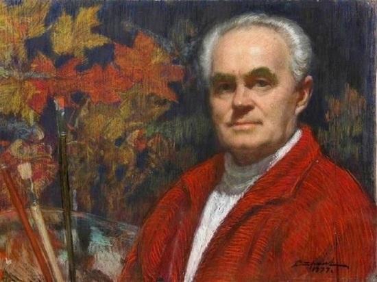 Георгий Стронк рисовал лики передовых рабочих и колхозников, партийных и хозяйственных деятелей республики, и даже самого Сталина