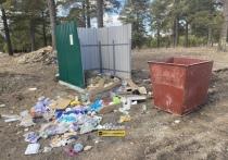 В Новосибирске жители жалуются на горы мусора