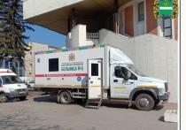 В Калуге начали работу мобильные пункты вакцинации от Covid