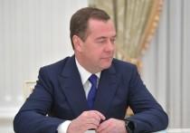 По весне в русском лесу проснулся Медведев