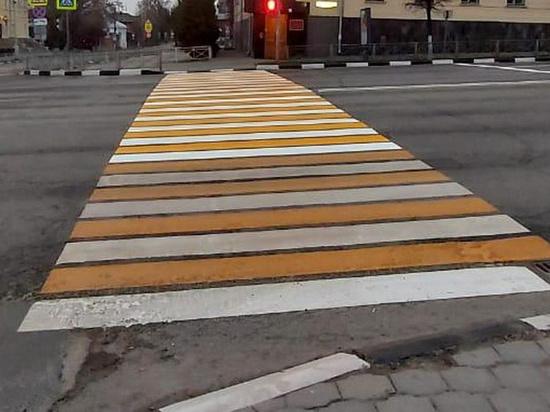 В Туле обновляют дорожную разметку