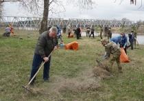 Псковские росгвардейцы обустроили площадку для установке памятника павшим в Великой Отечественной