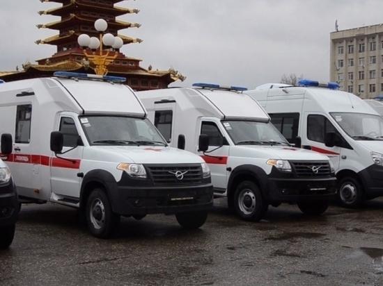 В Калмыкии в обновлении нуждаются сорок машин скорой помощи