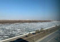Иртыш стал подниматься в черте Омска из-за ледохода