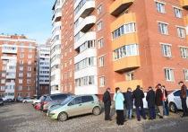 Администрация Вологды благоустроит территорию у дома для переселенцев из ветхого жилья на Окружном шоссе