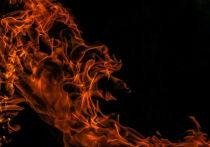 На центральной улице Кузбасса произошел крупный пожар