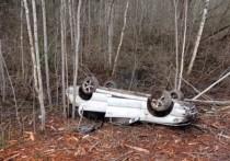Машина с тремя гдовичами перевернулась по дороге в Псков