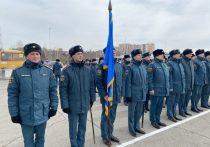 В Иркутске провели первую тренировку парада Победы