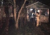В Обнинске в заброшенном доме в костре сгорел мужчина