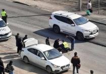 Иномарка сбила женщину на «зебре» в Ленинском районе Новосибирска