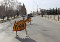 К концу апреля в Барнауле начали подготовку площадок проезжих частей к текущему ремонту дорожного покрытия.