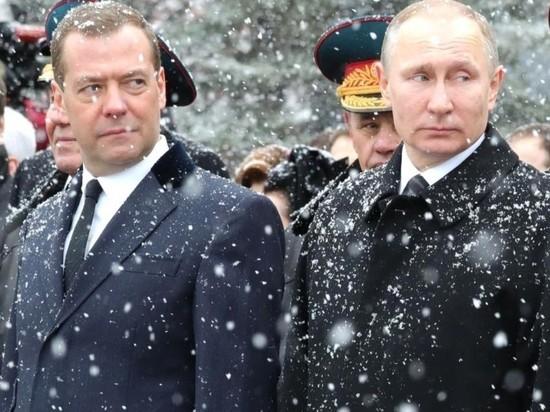 Медведев ответил «ненадежному» Байдену за Путина