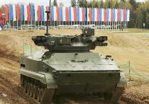 В России создается боевой робот «Удар» для ведения огня непосредственно на поля боя