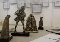 Выставка графики и скульптуры открылась в Пушкинском заповеднике