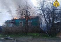 В Смоленске горел жилой дом