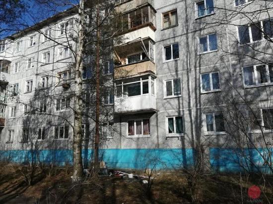 Утром в Северодвинске взрывом самогонного аппарата разнесло балкон