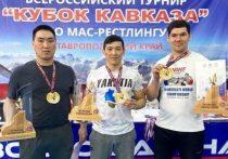 Якутские масрестлеры завоевали 10 золотых медалей на Кубке Кавказа