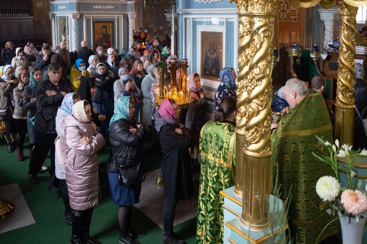 Православные костромичи отметили Вербное Воскресенье
