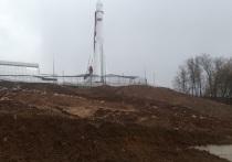 В Калуге склон возле нового музея космонавтики вновь начал сползать