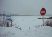 В Хангаласском районе Якутии закрыли ледовые переправы и автозимники