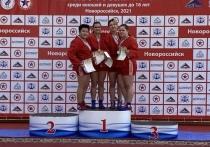 Калужские самбисты взяли 4 медали в Новороссийске