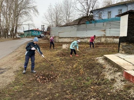 «Волонтёры Горного Урала» провели общий субботник