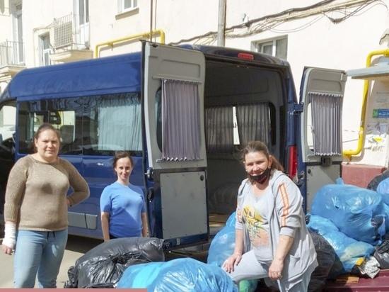 Отзывчивые ивановцы собрали для нуждающихся семей полторы тонны вещей