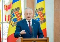 Додон: Призываю Санду прекратить дестабилизацию обстановки в Молдове