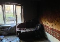 Трое мужчин чуть не задохнулись в горящей квартире в Смоленске