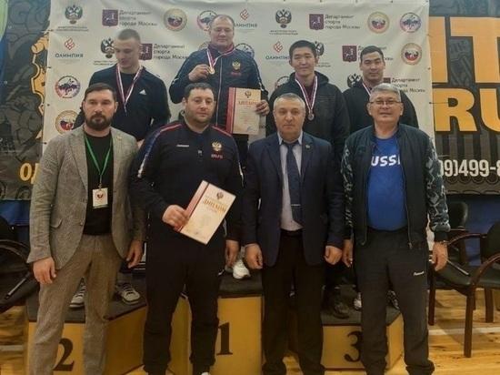 Калмыцкие спортсмены - призеры Кубка России по борьбе на поясах