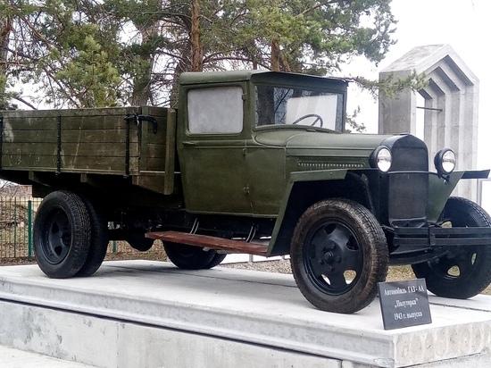 РМК помогла жителям села Челябинской области установить мемориал - боевую машину