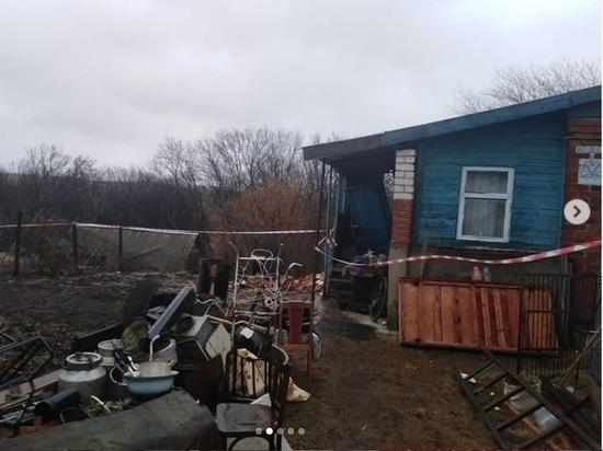 В Кстовском районе при оползне грунта дом разделился пополам