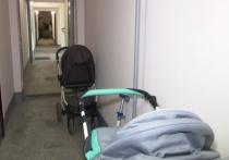 В Красноярске мама пятимесячного малыша Алена написала заявление в полицию: в детскую коляску, которая стояла на лестничной площадке, неизвестные налили уксусную кислоту