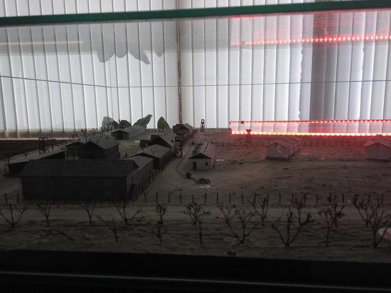В Крыму представили макет концлагеря смерти «Красный»