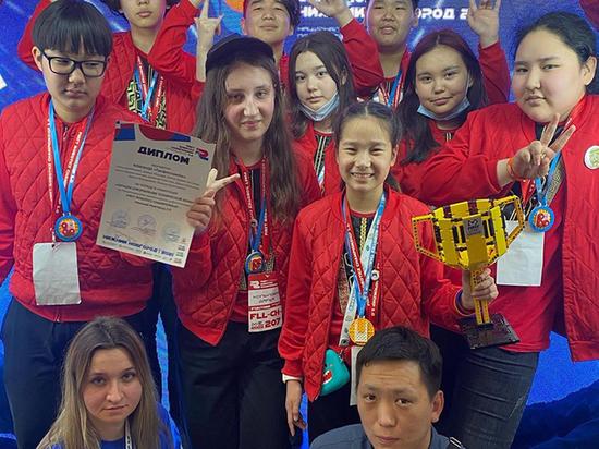 Калмыцкие юные изобретатели завоевали кубок национального чемпионата