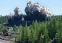 В Томпонском районе Якутии взрывные работы привели к лесному пожару