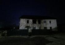 Пожар, в результате которого погибли трое детей, произошел 26 апреля вечером на станции Аскиз