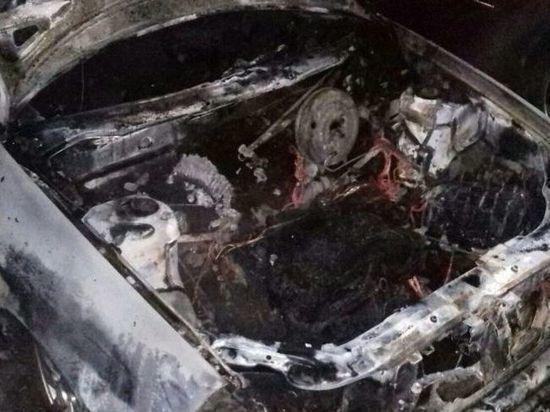 Третий случай возгорания автомобиля за сутки произошел в Ивановской области