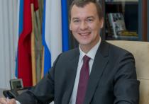 Онлайн-трансляция прямой линии Михаила Дегтярева на сайте «МК в Хабаровске» 28 апреля 2021