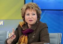 Визит Матвиенко в Казахастан перенесли