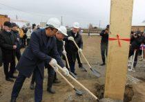 В якутском селе Борогонцы  установили первую сваю школы на 450 мест