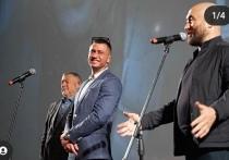 Павел Прилучный и Мирослава Карпович появились вместе на премьере фильма «Девятаев»