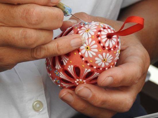 В Челябинске открылась пасхальная ярмарка