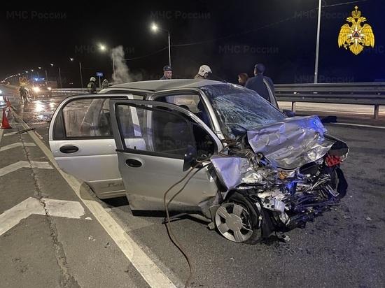 В Калужской области 79-летний водитель Matiz погиб в ДТП на встречке