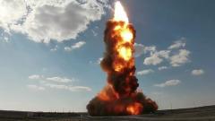 Минобороны показало кадры испытаний новой ракеты системы ПРО