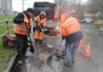 Коммунальщики Серпухова продолжили приводить город в порядок